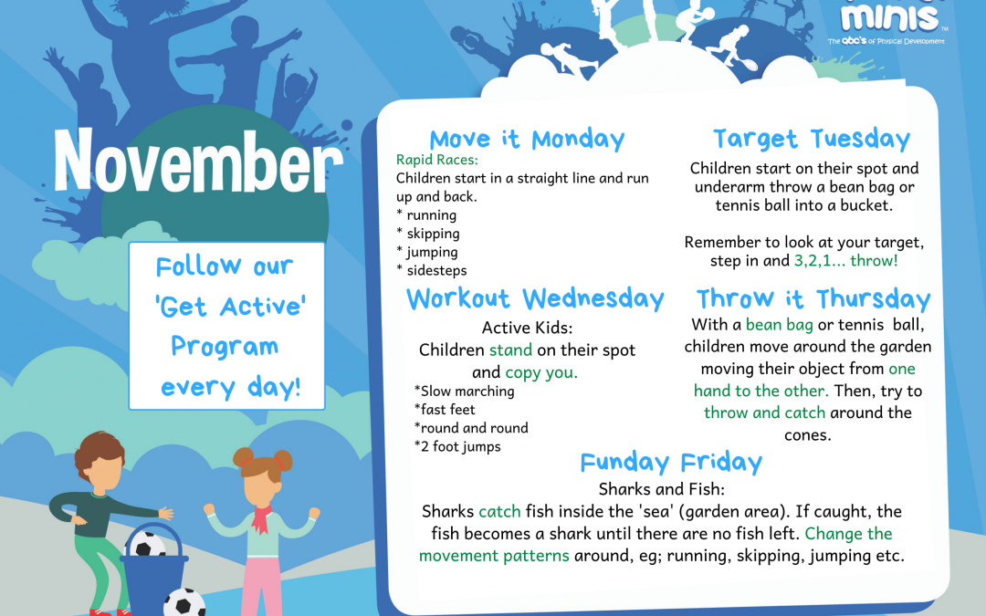 November 'Get Active'
