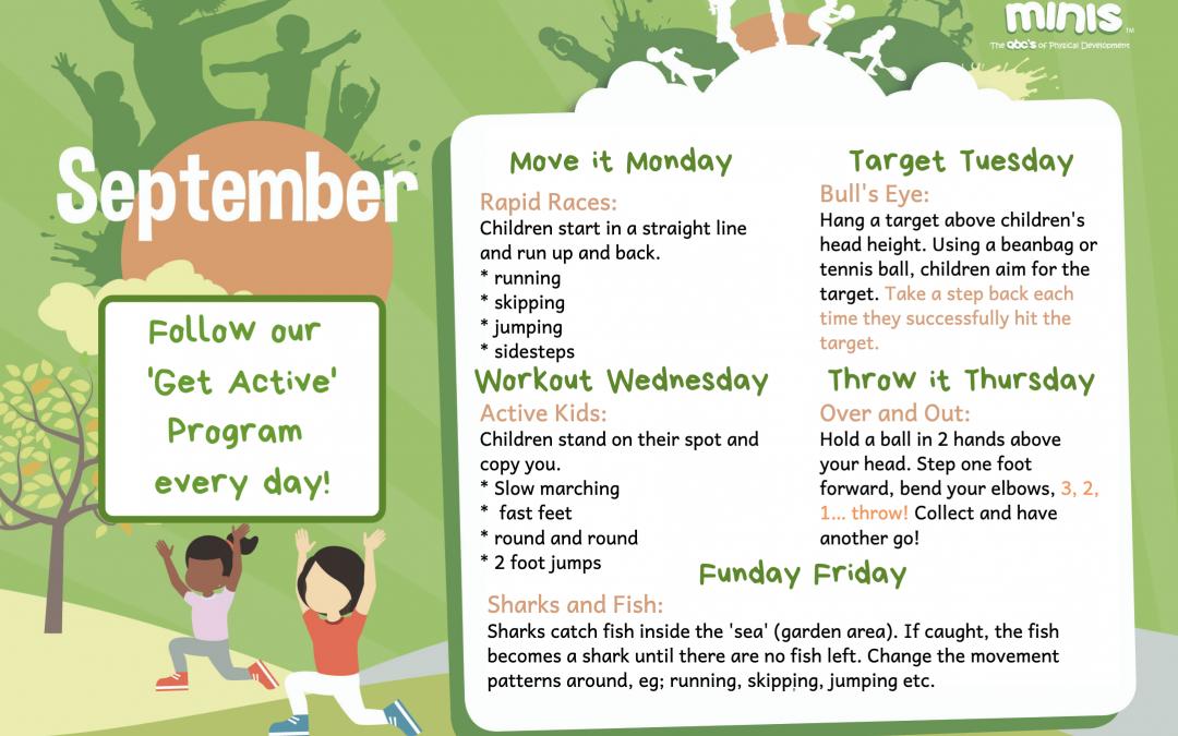September 'Get Active'