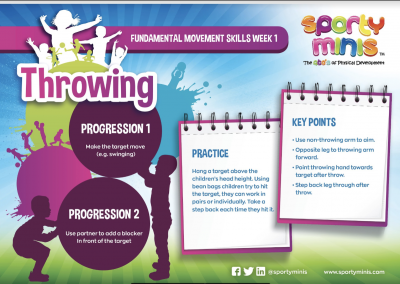 Throwing Progression