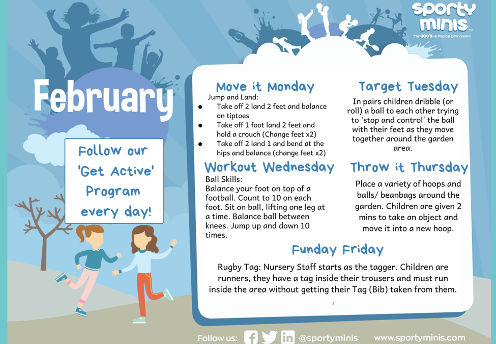 February 'Get Active'