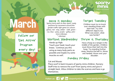 March Get Active