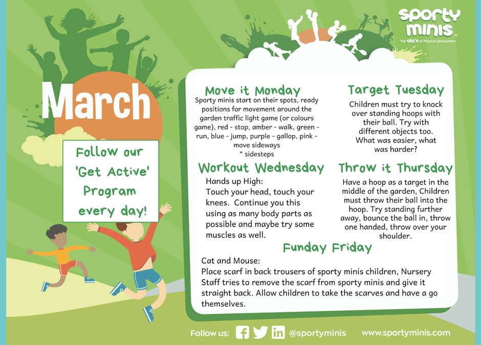 March 'Get Active'
